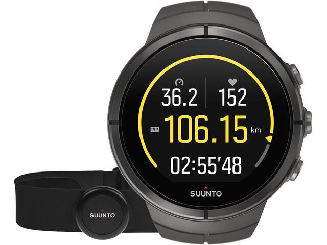 Suunto Spartan Ultra Titanium Watch Chest HR Stealth